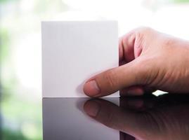 vitt papper foto