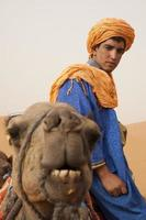 saharaöknen, marocko foto