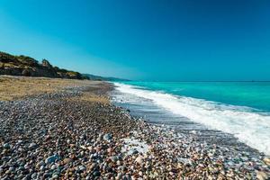 öde strandhav foto