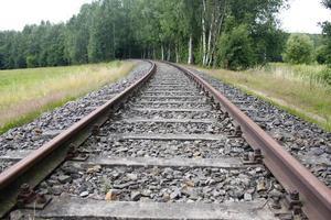 tåg järnväg järnväg järn stål transport logistik foto