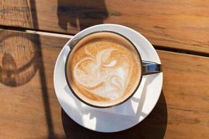 kaffe latte foto