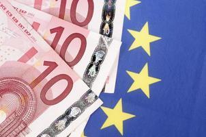 tio eurosedlar foto