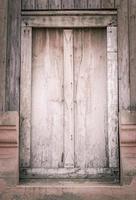 fönster gammalt trä foto