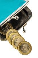 nästan tom plånbok