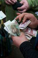 kolombiska pesos foto