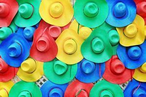 färgglada hattar foto