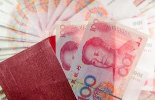 rmb 100 yuan foto