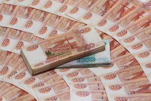 ryska rubel (ryska valutan) foto
