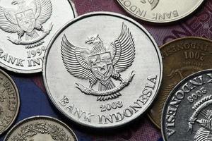 Indonesiens mynt foto