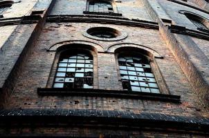 gammal övergiven byggnad