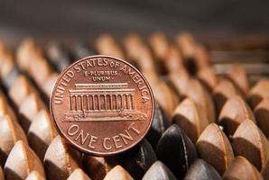 cent och abacus foto