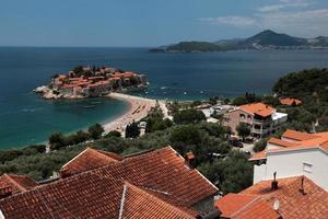 europa montenegro sveti stefan foto