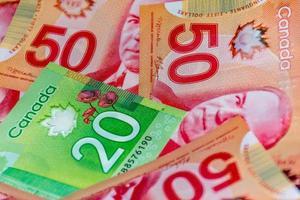 kanadensiska dollar foto