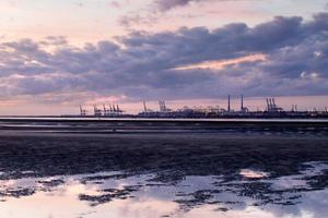 hamnen i le havre foto