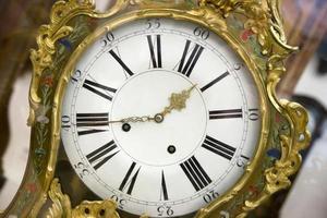 antik klocka foto