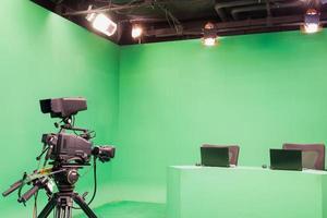 TV-studio foto