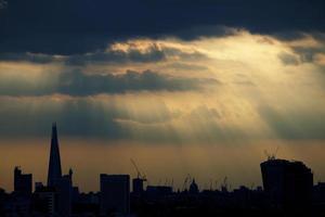 london himmel foto