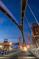 millenium bridge manchester foto