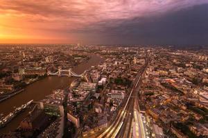 London före stormen foto
