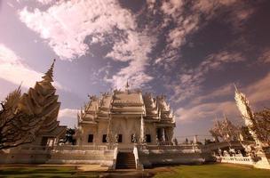 thailand chiang rai wat rong khun foto