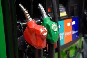 bensinpumpstation foto