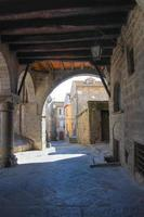 bakgata. viterbo. lazio. Italien. foto