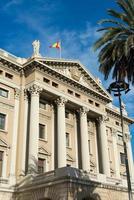 militär regeringsbyggnad barcelona foto
