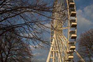 gammalt pariserhjul - hyde park foto