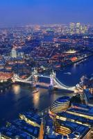 London natt foto