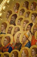 Florens - basilika av santa croce. foto