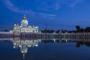 gurdwara bangla sahib, new delhi, Indien foto