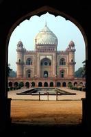 safdarjang grav, nya delhi, Indien foto