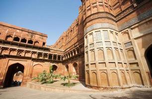 agra fort i Indien foto
