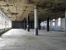 övergivna fabriken foto