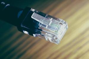 Ethernet-kabel foto