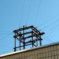 transformatorstation. foto