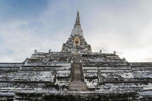 forntida buddha pagod foto