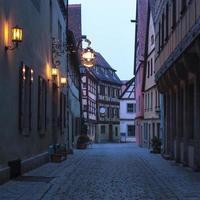 rothenburg ob der tauber. bayern, Tyskland. foto