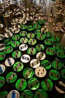 elektronisk avfall - lagerbild foto