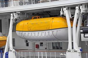 säkerhetsbäddningsbåt foto