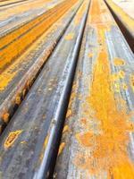 bakgrund av järn och stål. foto