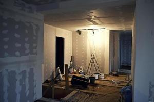 byggarbetsplats foto