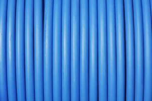 blå kabel foto