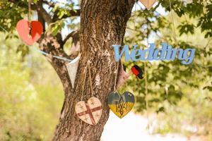 bröllop dekorationer foto