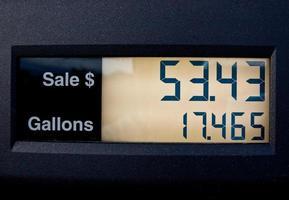 bensinpump foto