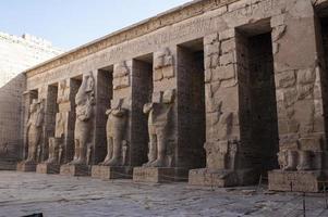 medinet habu tempel foto