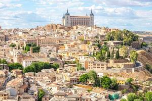 Toledo stadsbilden Spanien foto