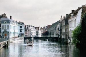 resebilder belgien - gent foto