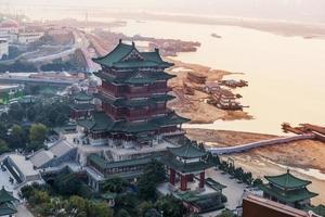 forntida kinesisk arkitektur foto