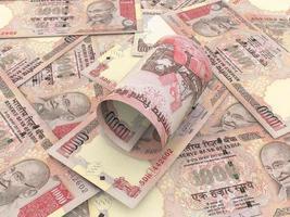 indisk rupie foto